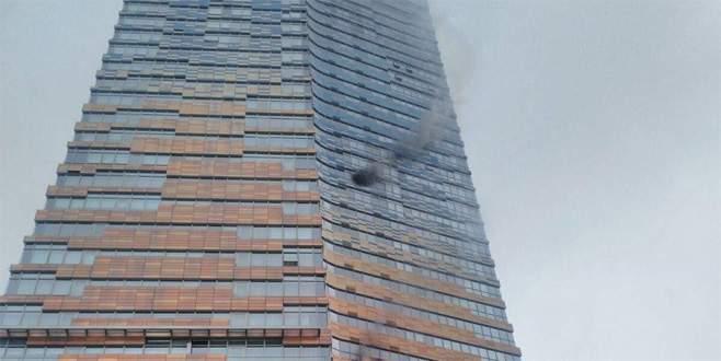 41 katlı rezidansta yangın