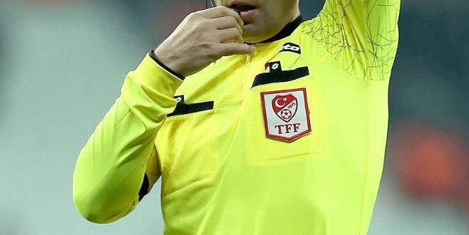 Antalya maçının hakemi belli oldu