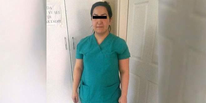 Hastanede 'sahte' hemşire yakalandı!