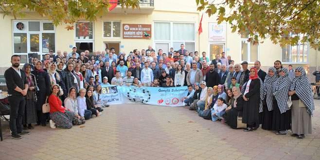81 kentin gençleri Gemlik'te buluştu