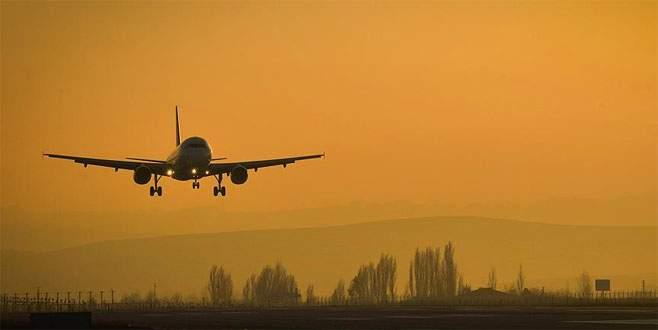 189 kişilik uçakta tek başına yolculuk yaptı