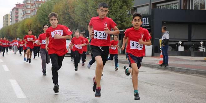 Bursa'da Cumhuriyet Koşusu