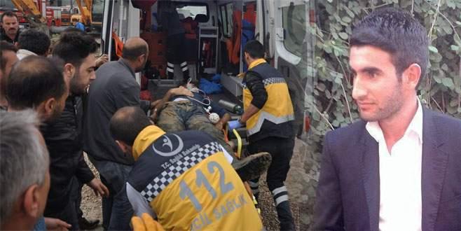 Bursa'da göçük! 1 işçi hayatını kaybetti