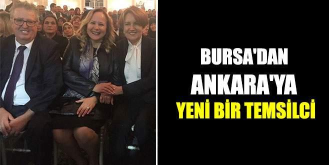Bursa'dan Ankara'ya yeni bir temsilci