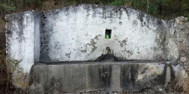 Su şehri Bursa'nın yüzlerce kaynak çeşmesi kurudu