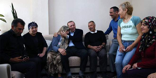 Erdoğan'dan sürpriz ziyaretler