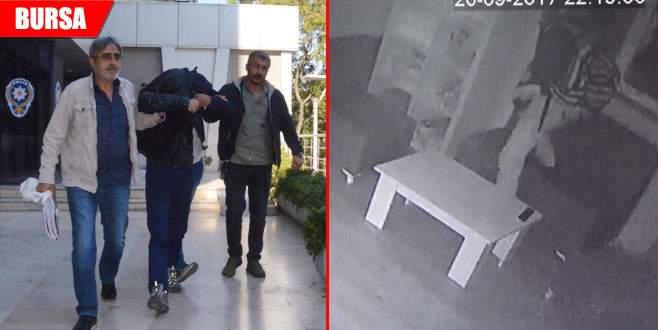 Okullara dadanan hırsızlar yakayı ele verdi