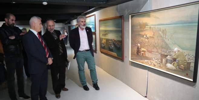 Aydın Ayan'ın Bursa Retrospektifi sergisi kapılarını açtı