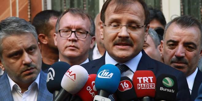 Hakan Çavuşoğlu'ndan Bursa'da belediye başkanları açıklaması