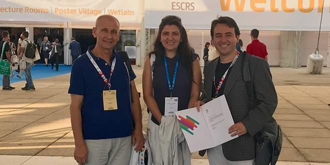 Öğretim üyelerine ESCRS'den ödül