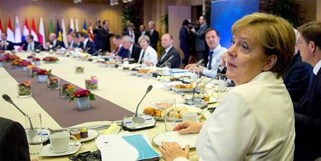 Brüksel'den 'mali' tepki