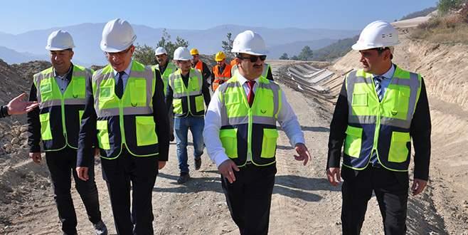 Hocaköy Barajı 2020'de bitecek