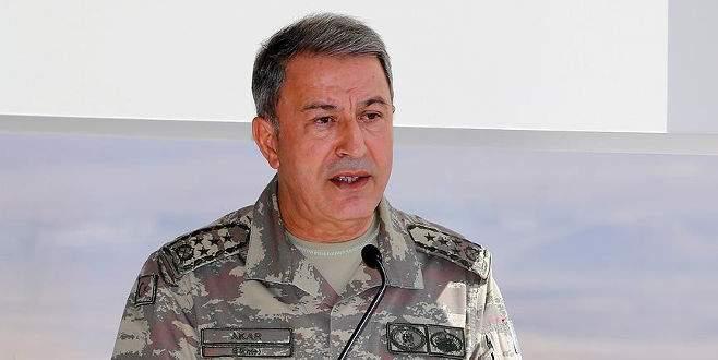 Genelkurmay Başkanı Akar'dan İdlib açıklaması