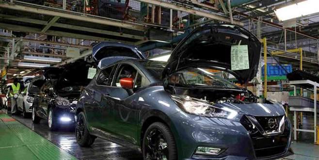 Japon devi üretimi askıya aldı
