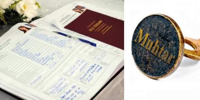 CHP'den muhtarlara nikah yetkisi için teklif