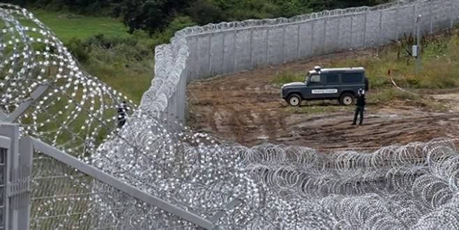 Bulgaristan-Türkiye sınırındaki tel örgü stratejik yapı oldu