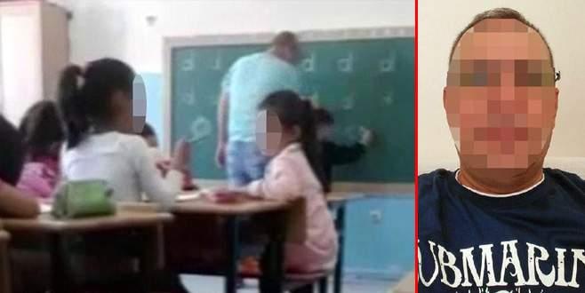 'D' harfini yazamadığı için öğrencisini döven öğretmene gözaltı