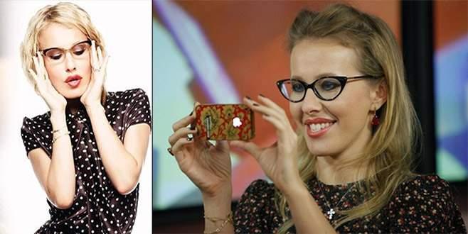 Rusya'nın Paris Hilton'u Putin'e rakip oldu