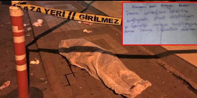 Kilitlendiği evin balkonundan çarşafla kaçmaya çalışan kız öldü