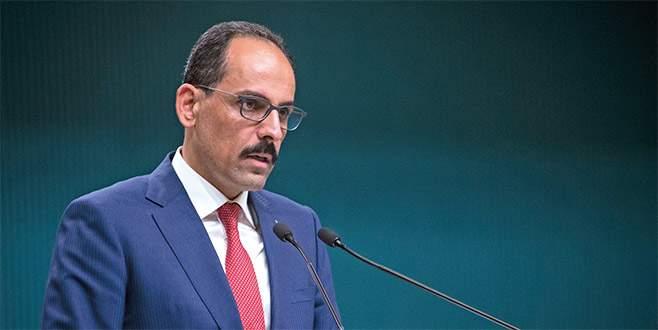 Cumhurbaşkanlığı Sözcüsü Kalın'dan vize krizi açıklaması