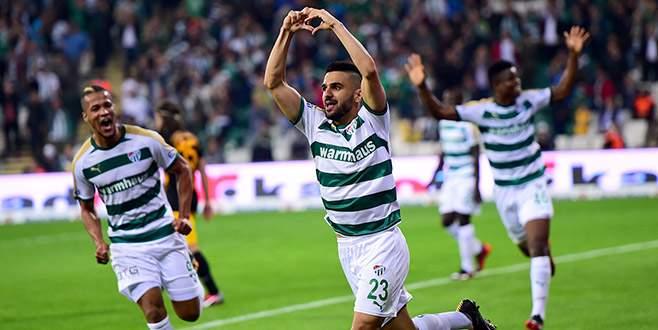 Süper Lig'de 19 sezonun en golcü Bursaspor'u