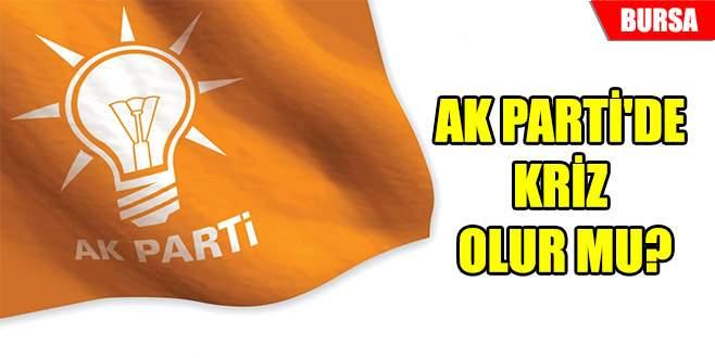 AK Parti'de kriz olur mu?