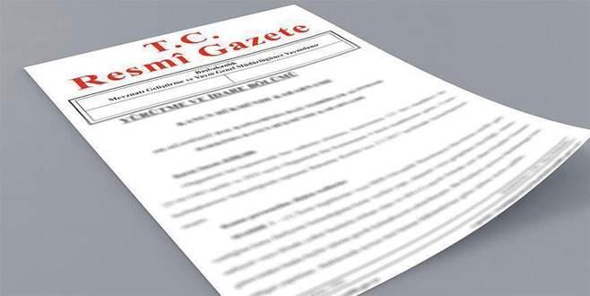 Takasbank'a yetki Resmi Gazete'de