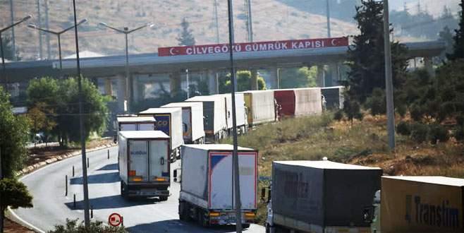 Cilvegözü Sınır Kapısı ticari TIR'lara açıldı