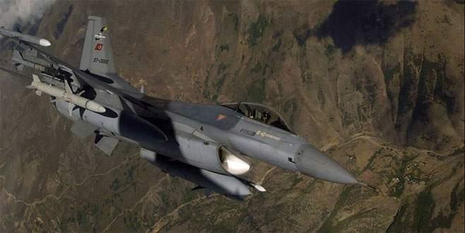 Türk savaş uçaklarından Zap bölgesine hava harekatı