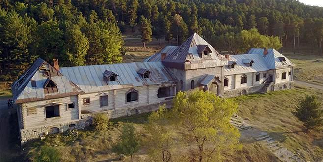 Bu yapı Türkiye'de! Katerina Köşkü otel oluyor…