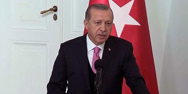 Erdoğan'dan Polonya'da AB'ye mesaj: 'Almayacaksınız açıklayın!'
