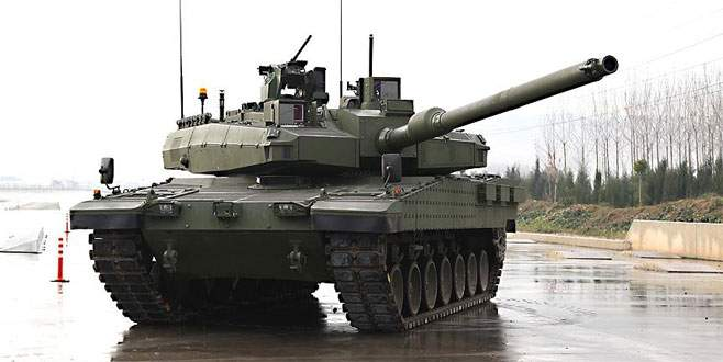 Altay tankına yerli motor için beklenen adım atıldı