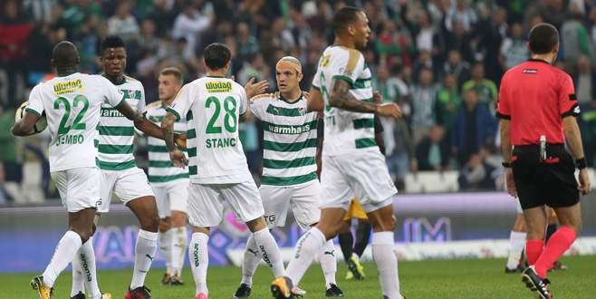 Bursaspor 3-1 Osmanlıspor (MAÇ SONUCU)