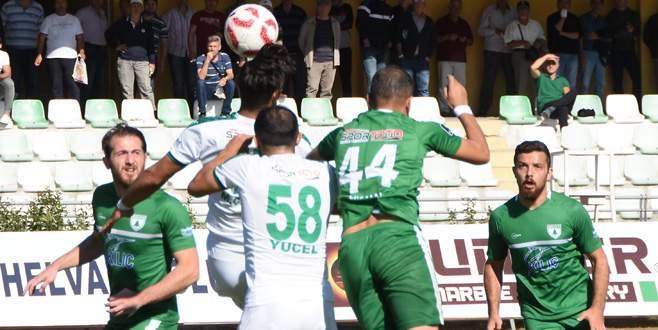 Yeşil Bursa bildiğiniz gibi: 2-0