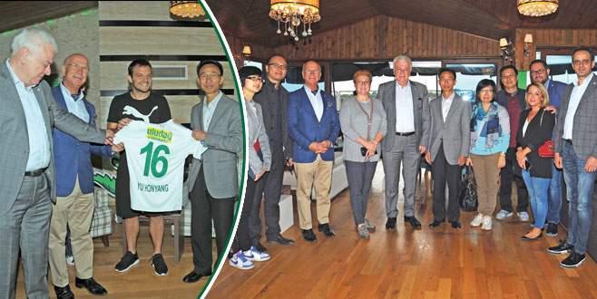 Bursaspor Çin'e açılıyor