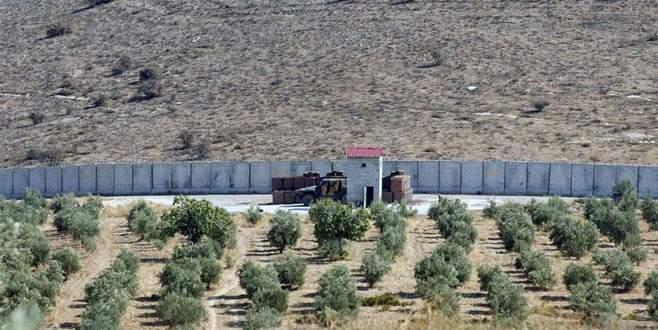 Suriye sınırında yoğun güvenlik önlemi