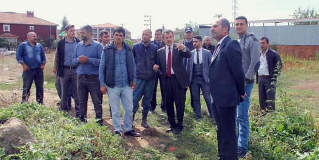 Yenişehir'e yakın çevre yolu