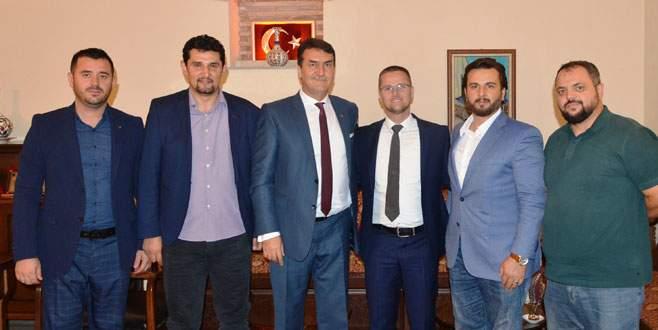 Preşova'dan Dündar'a teşekkür ziyareti