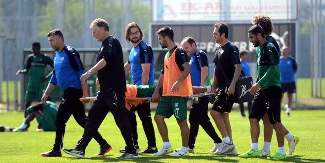 Bursaspor'da bir sakatlık şoku daha