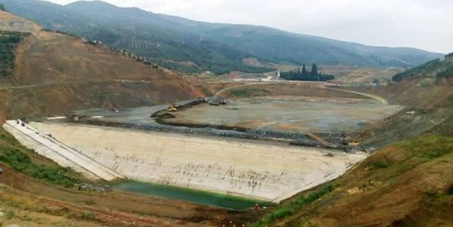Gemlik'in su ihtiyacını yeni baraj karşılayacak
