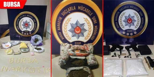 Bir ayda uyuşturucudan tutuklananların sayısı açıklandı