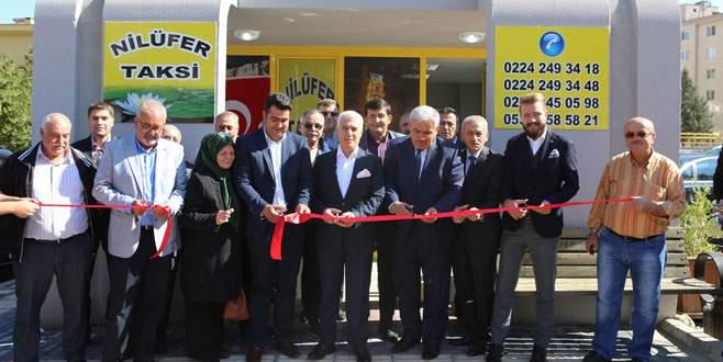 Nilüfer'de 18 taksi durağı yenilendi