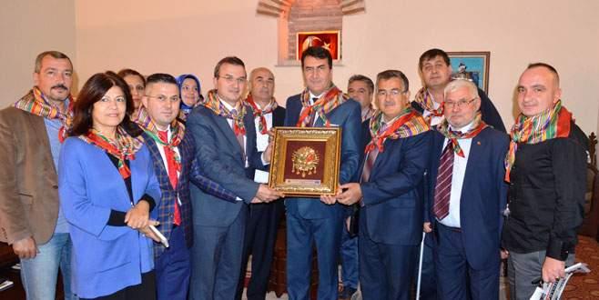 Yörük Türkmenleri'nden Mustafa Dündar'a ziyaret