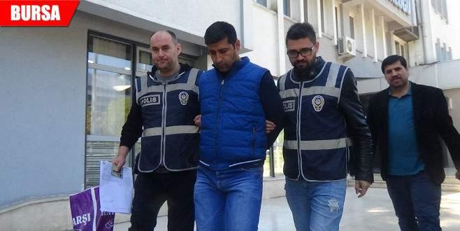 Vurgun yapan sahte polis adliyede yakalandı