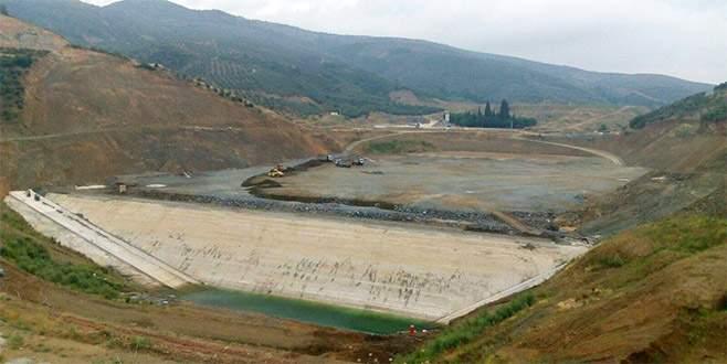 Bursa'ya dev bir baraj daha inşaa ediliyor