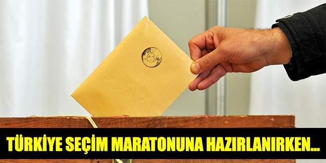 Türkiye seçim maratonuna hazırlanırken…