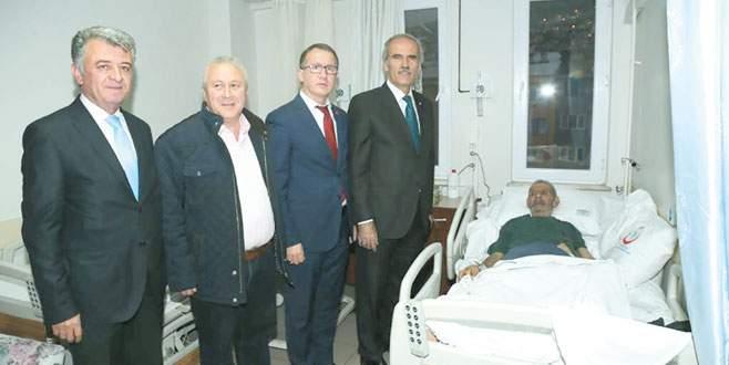 Başkan Altepe'den Amigo Fiko'ya ziyaret
