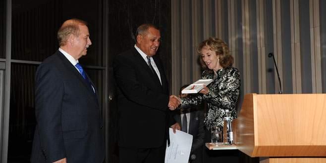 Hüseyin Özdilek'e Slovakya Devlet Nişanı