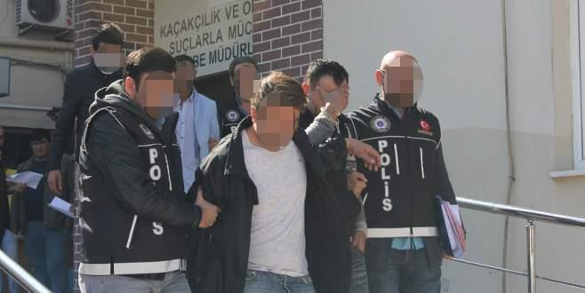 Bursa'da uyuşturucu tacirlerine darbe