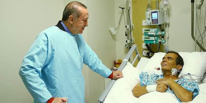 Erdoğan'dan Süleymanoğlu'na ziyaret